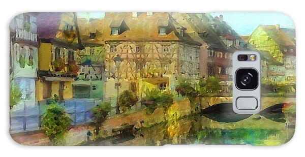 Historic Village On The Rhine Galaxy Case