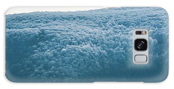 Hoarfrost Blue Mountain Galaxy Case