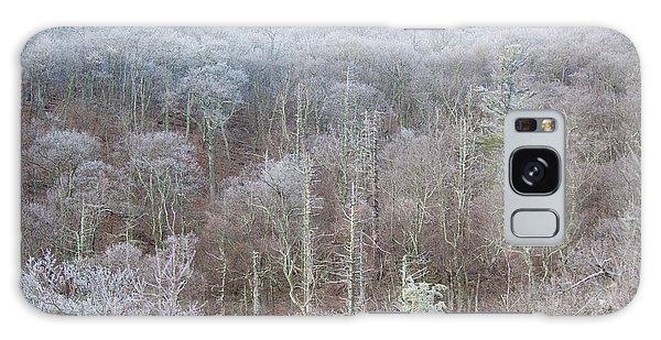 Hoarfrost In The Tree Tops Galaxy Case