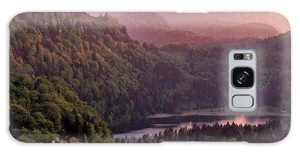 Cloudscape Galaxy Case - Hohenschwangau Castle, Bavaria, Germany by Francesco Carucci