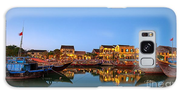 Dawn Galaxy Case - Hoi An Old Town In Vietnam After Sunset by Banana Republic Images