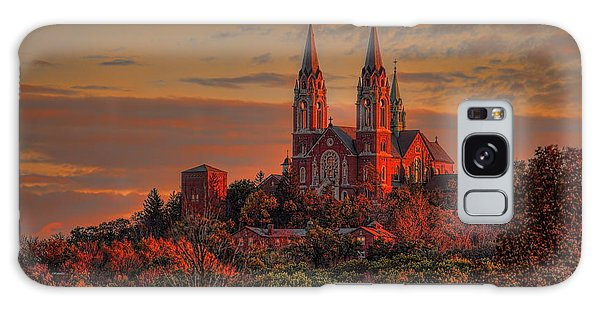 Holy Hill Sunrise Galaxy Case