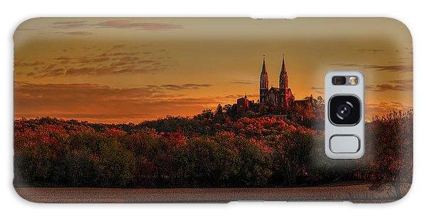 Holy Hill Sunrise Panorama Galaxy Case