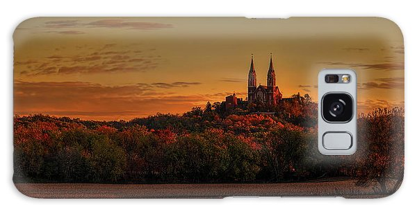 Holy Hill Sunrise Panorama Galaxy Case