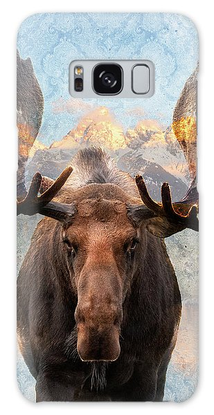 Hometown Moose Galaxy Case