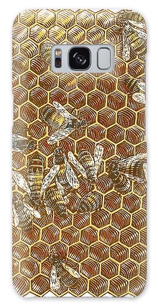 Honey Bees Galaxy Case