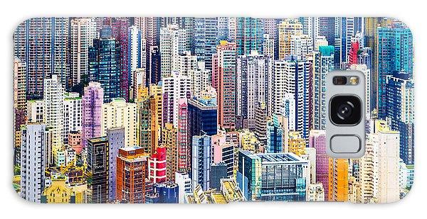 Destination Galaxy Case - Hong Kong, China Dense Cityscape Of by Esb Professional