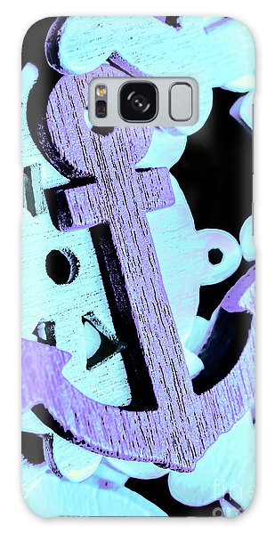 Shipping Galaxy Case - Hooked On Sea Travel by Jorgo Photography - Wall Art Gallery