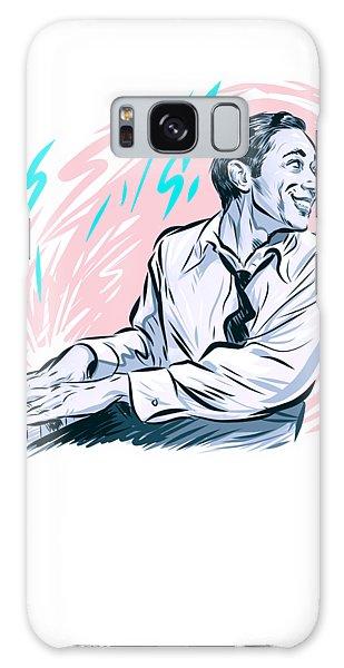 Hard Bop Galaxy Case - Horace Silver - An Illustration By Paul Cemmick by David Richardson