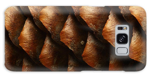 Natural Galaxy Case - Horizontal Full Frame Macro Of A Cone by Chembarisov