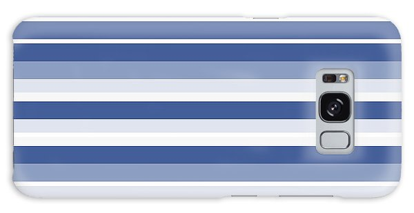 Horizontal Lines Background - Dde607 Galaxy Case