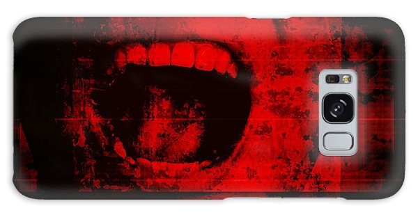 Movie Poster Galaxy Case - Horror Background For Movies Poster by Joe Therasakdhi