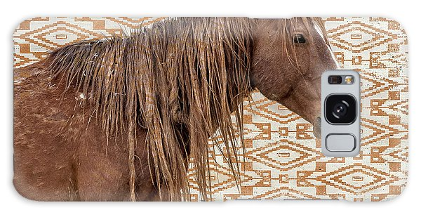 Horse Blanket Galaxy Case