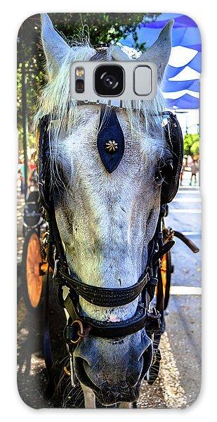 Horse Portrait I Galaxy Case