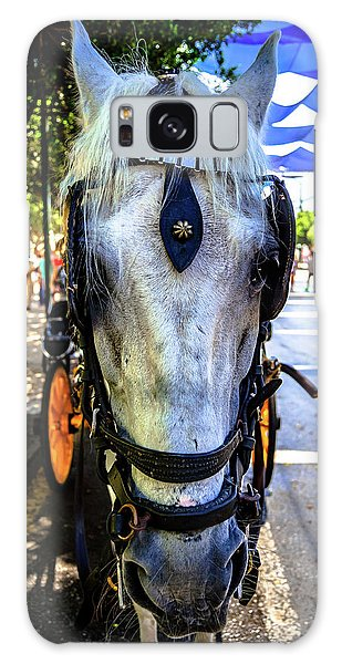 Horse Portrait I Galaxy Case