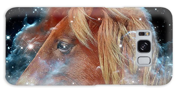 Galaxy Case featuring the photograph Horsehead Nebula With Horse Head Outer Space Image by Bill Swartwout Fine Art Photography