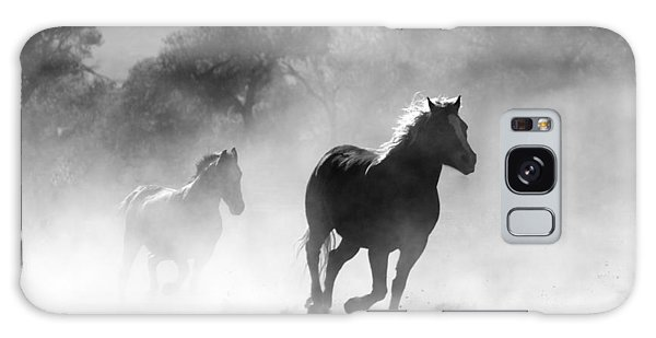 Horses On The Run Galaxy Case
