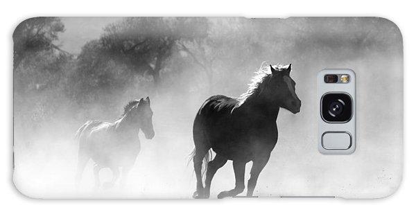 Horses On The Run Galaxy Case