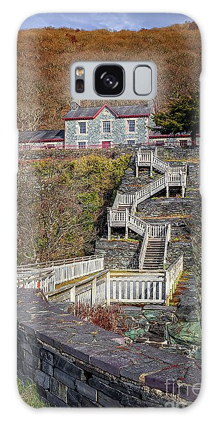 Galaxy Case - Hospital Steps At Llanberis Quarry  by Adrian Evans