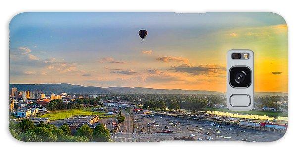Hot Air Ballon Sunset Galaxy Case