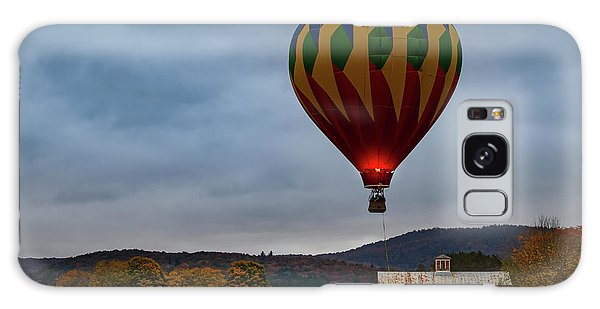 Hot Air Balloon At Woodstock Vermont Galaxy Case