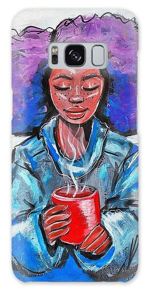 Galaxy Case - Hot Cocoa by Artist RiA