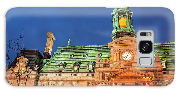 Quebec City Galaxy Case - Hotel De Ville Is Actually An Opulent by Stuart Westmorland