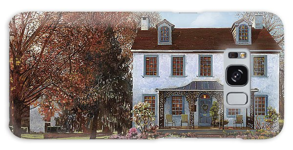 Tapestry Galaxy Case - house Du Portail  by Guido Borelli