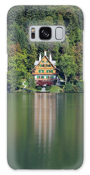 House On The Lake Galaxy Case