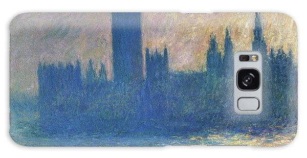 Houses Of Parliament Galaxy Case - Houses Of Parliament, Sunlight Effect - Digital Remastered Edition by Claude Monet