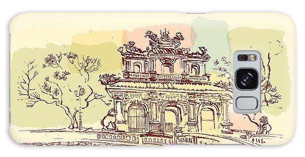 Majestic Galaxy Case - Hue, Vietnam. Imperial Citadel Gate by Babayuka