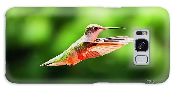 Hummingbird Flying Galaxy Case
