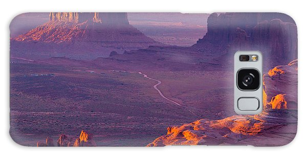 Southwest Usa Galaxy Case - Hunts Mesa, Monument Valley - American by Ronnybas Frimages
