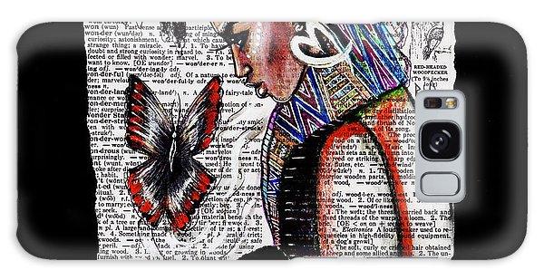 Motivational Galaxy Case - I Am A Woman by Artist RiA
