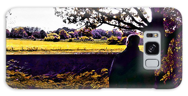 Thought Provoking Galaxy Case - I Can Feel It Coming In The Air by Glenn McCarthy Art and Photography