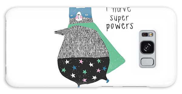 I Have Super Powers - Baby Room Nursery Art Poster Print Galaxy Case