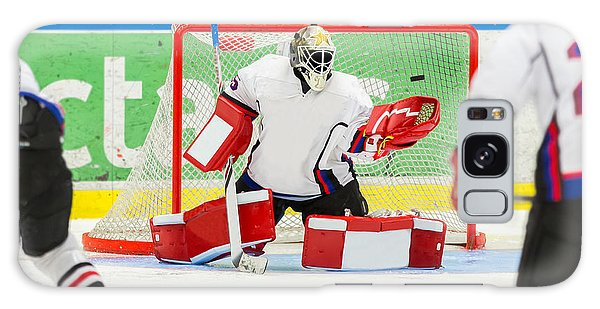 Success Galaxy Case - Ice Hockey Goalie by Robert Nyholm