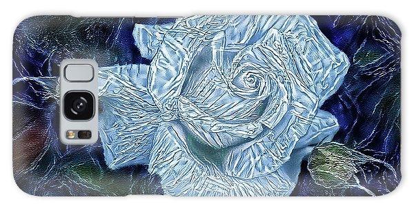 Ice Rose Galaxy Case