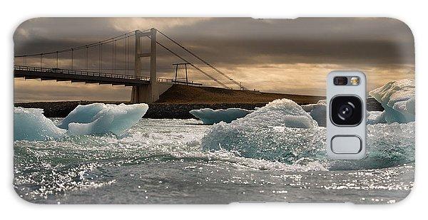 Dawn Galaxy Case - Iceberg Drifting To Sea At Jokulsarlon by Menno Schaefer