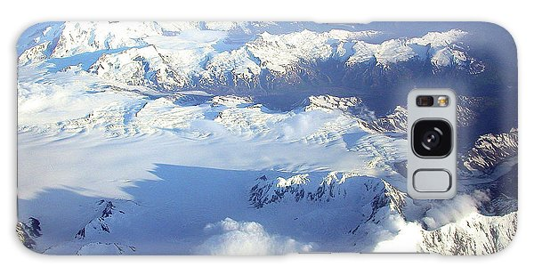 Icebound Mountains Galaxy Case