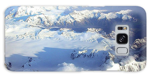 Icebound Mountains Galaxy Case