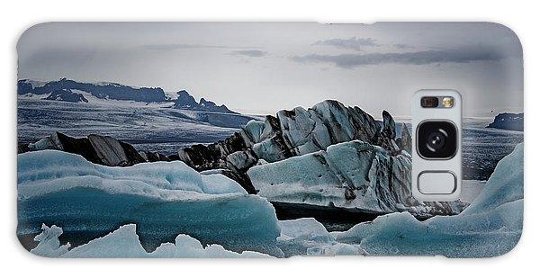 Icy Stegosaurus Galaxy Case