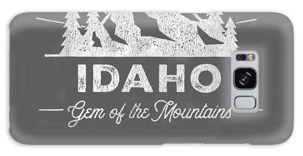 Girl Galaxy Case - Idaho T Shirt Vintage Hiking Retro Tee Design by Unique Tees