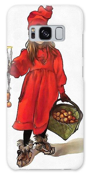Iduna And Her Magic Apples Galaxy Case