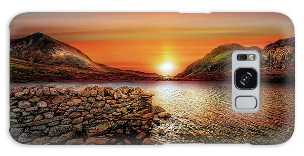 Galaxy Case - Idwal Lake Sunset by Adrian Evans