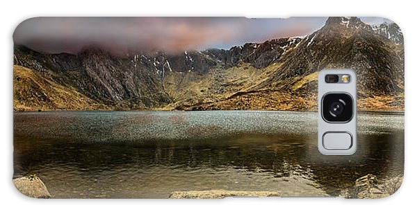 Galaxy Case - Idwal Lake Winter Sunset by Adrian Evans