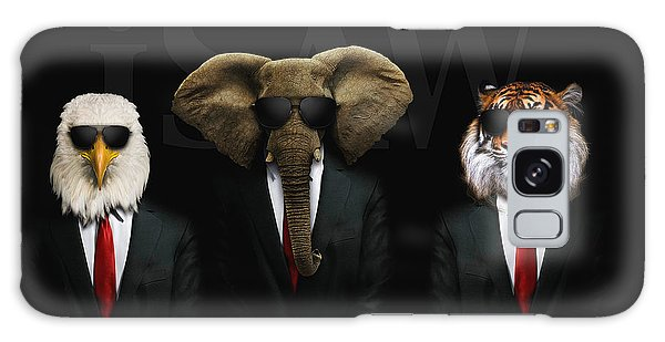 Galaxy Case featuring the digital art If Animals Ruled The World by ISAW Company