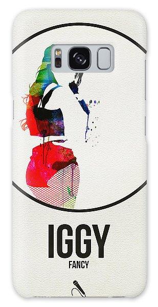 Classic Rock Galaxy Case - Iggy Azalea Watercolor by Naxart Studio