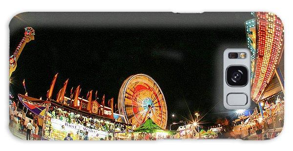 County Fair Galaxy Case - Illuminated Midway by Todd Klassy