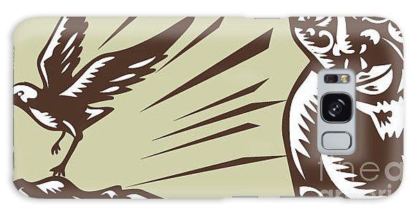 Mythology Galaxy Case - Illustration Of Samoan Legend God by Patrimonio Designs Ltd